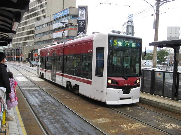 長崎電気軌道車両