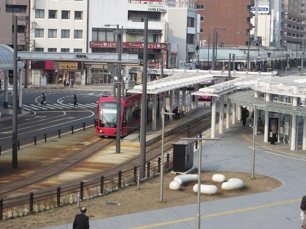 「福井駅」停留所
