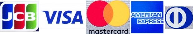 クレジットカードの5大ブランド