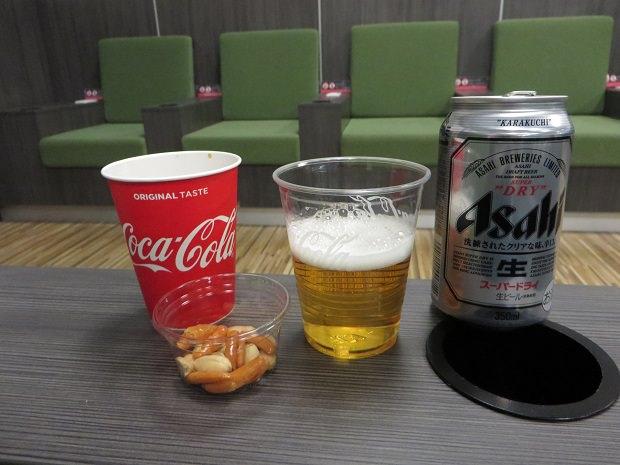 ビール(IASS EXECUTIVE LOUNGE)