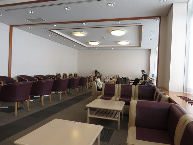 TEIラウンジ(第1ターミナル)室内