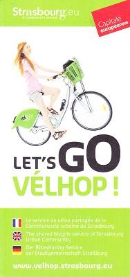 「VELHOP」のパンフレット