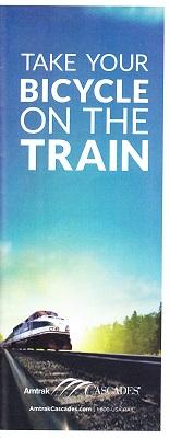 「Amtrak(アムトラック)」のパンフレット