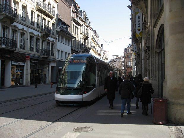 歩道と線路の段差