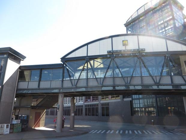 タコマのバスターミナル