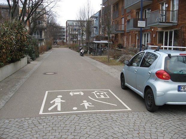 路上の標識