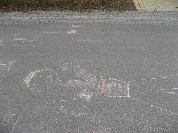 子どもの落書き