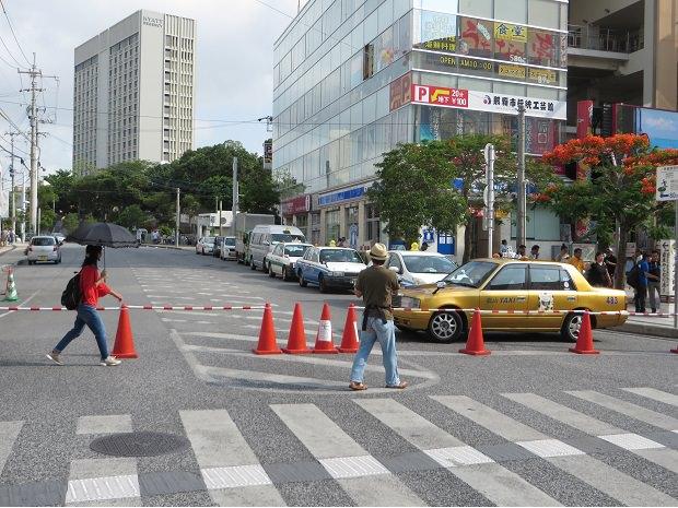 タクシーの客待ち
